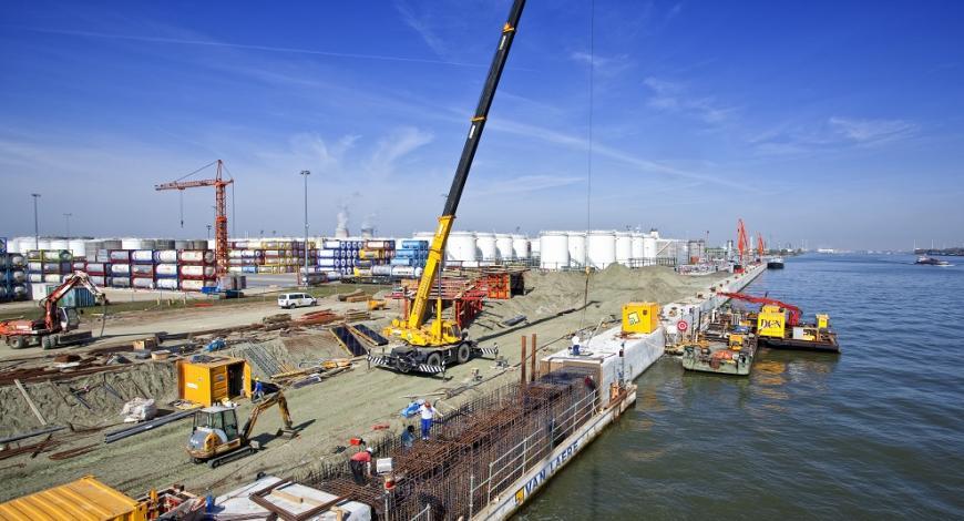 Lavori di completamento interventi sul porto di Ortona