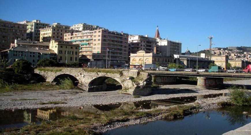 Bando di gara: adeguamento idraulico del torrente Chiaravagna Genova