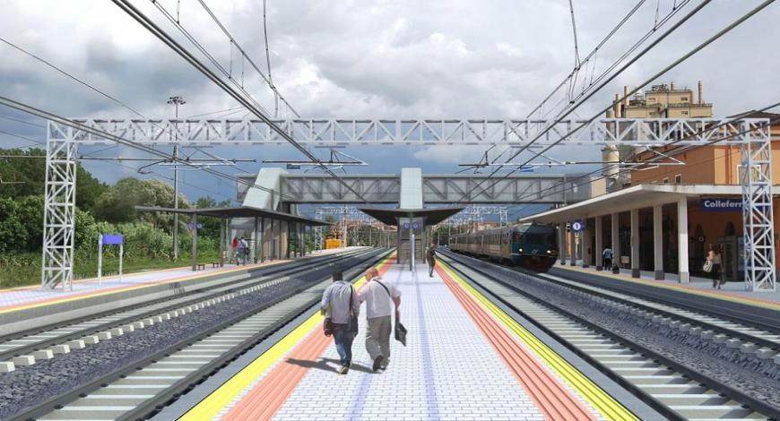 Bando di gara COCIV: lavori binari ferrovie Genova
