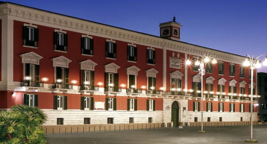 Bando di gara: ristrutturazione del Palazzo della prefettura di Bari