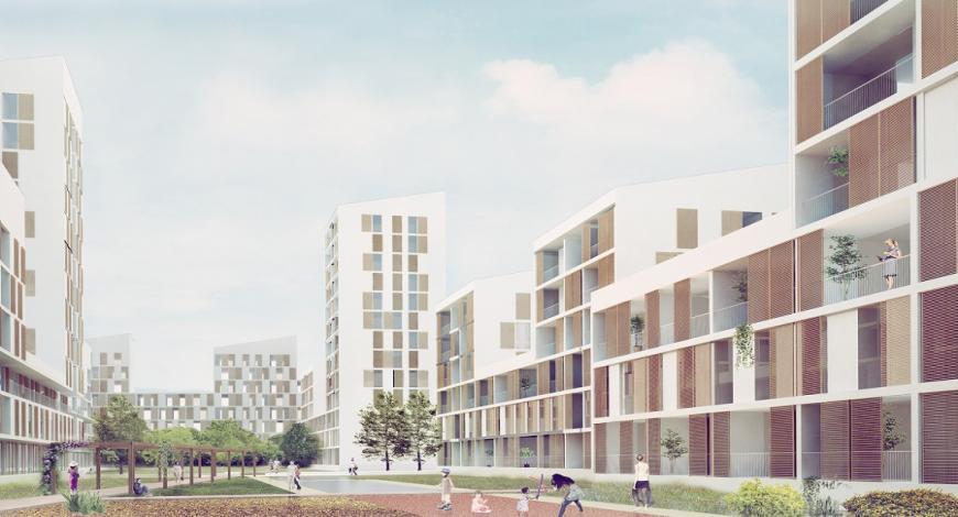 Francia: concorso di progettazione di un complesso immobilare