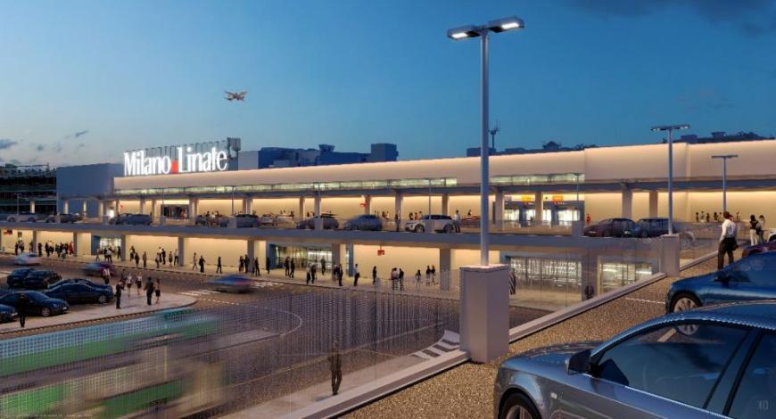 Aeroporto Milano Linate: realizzazione delle opere civili e impiantistiche di potenziamento e riconfigurazione del Corpo F