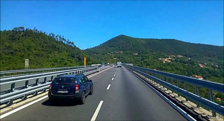 Lavori di manutenzione sul Tronco A6 dell'Autostrada dei Fiori