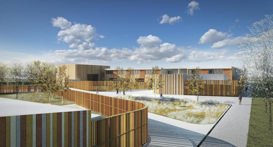 Progettazione del nuovo polo scolastico a S. Giovanni in Marignano