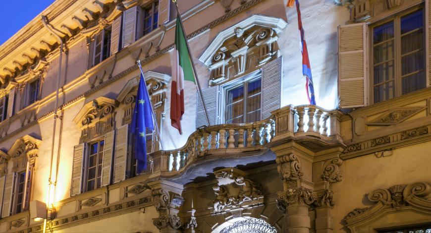 SCP Piemonte: Restauro e risanamento conservativo di Palazzo Lascaris